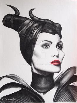 Maleficent by Indigoblau