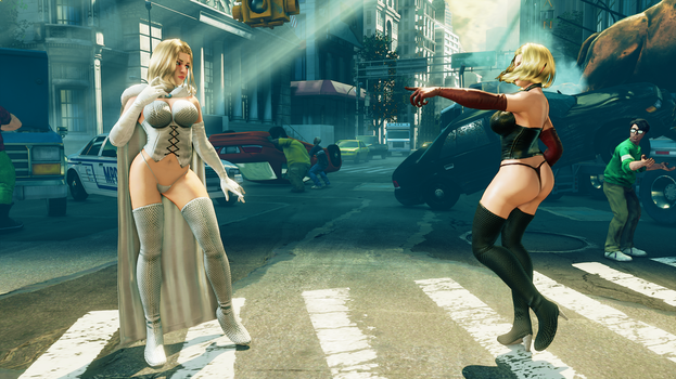 KOLIN - EMMA FROST: SUB-REQUEST 01 by Khaledantar666