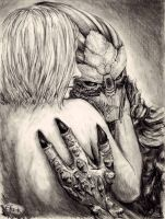Shepard and Garrus part 2 by efleck