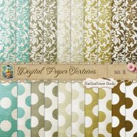 Damask Dots Paper Textures 3 by starsunflowerstudio