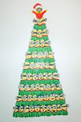 catherinetterings 65 9 minion christmas tree by mehermeher - Minion Christmas Tree
