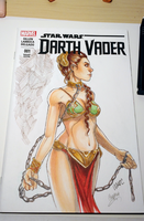 Slave Leia by WhitneyCook