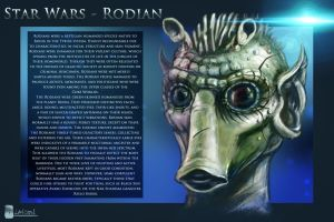 Star Wars - Rodian by Dreamisover
