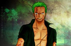 Zoro by Reneega