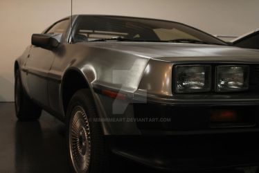1981 DeLorean DMC 12 Coupe by MimmiMeArt