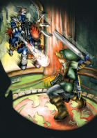 Zelda OoT - Link VS Phantom Ganon by MajorasMasks