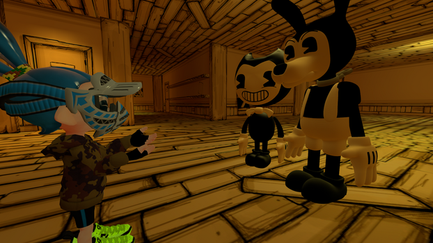 SFM I have gift by bendy by superneung47