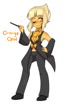 Orange Opal by ShiroShototsu