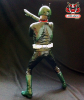1/6 Kamen Rider No.1 Classic Vinyl Kit Painted 03 by wongjoe82