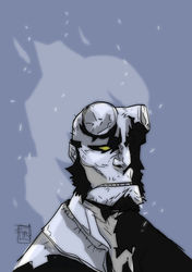 Hellboy in Hell by Ultrafpc