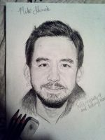 mike shinoda by knowhopeinme