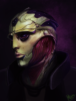 Mass Effect: Thane Krios by ruthiebutt