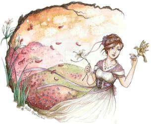 The breath of Spring by Songes-et-crayons