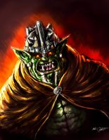 Orc by Mark-Clark-II