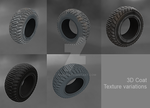 Tire Textured by 3D-BUG