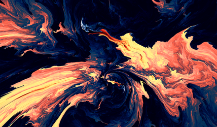 The Rage Of Flames -  Day 14 by LukasFractalizator