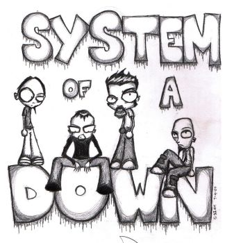 System of a Down by xDimax