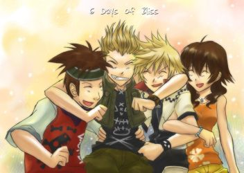 KH2 - 6 Days of Bliss by evil-maiki