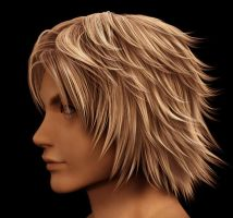 Tidus wip 3d by Chrysley