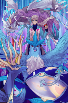 Icy Mystic by CatCrossing