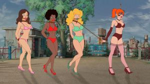 Teen Angels in Troubles Lingerie Version by VictorZulu