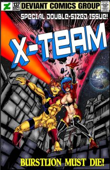 Classic Cover-X Team no. 137 by Captain86