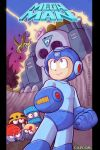 Megaman and fortress by Silver-Ray