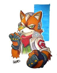 Copic Fox by herms85