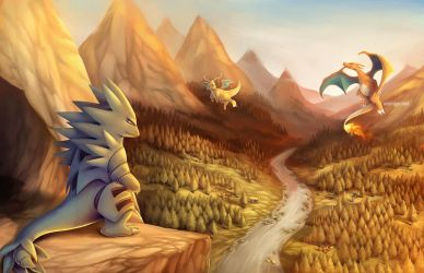 Commission for LithiumArragua: Down in the Valley by eldrige