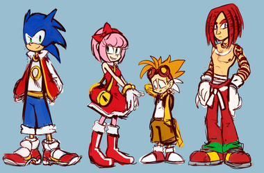 Sonic the Human by knockabiller