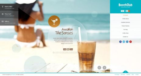 Beachclub - Fullscreen Wordpress Theme by ait-themes