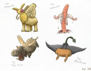 The Other Mythical Beasts by danieljoelnewman