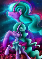 Fanart - MLP. Mistifying Beauty by jamescorck