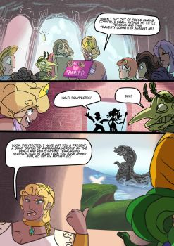 Medusa:Warrior of Justice the Graphic novel Pg 19 by BubbleDriver