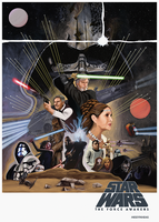 Star Wars the Force Awakens Poster Ammendments 2 by MessyPandas