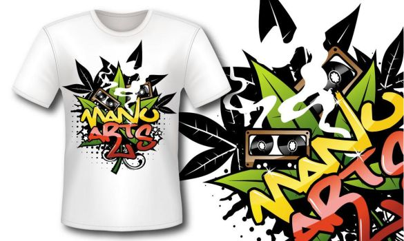Camiseta Manuarts by manuarts3000