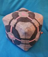 Companion Cube plush by iamwinterborn