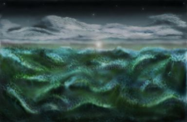 Ocean Seascape by artiststudio-us