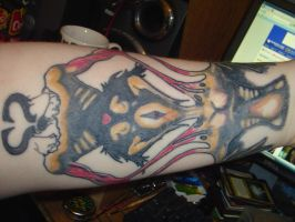 My newest tat -left arm by jiro-tu-emo-shi-shio