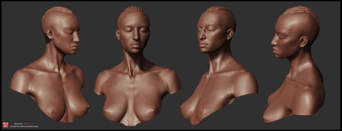 female bust by mojette