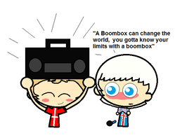 SATW Boombox by ABtheButterfly