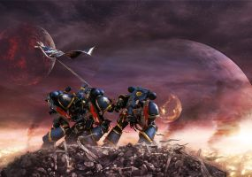 Space Marines by PeteMachine