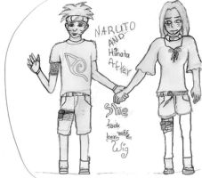 NaruHina- new outfits2 by COLAD-art-gallery