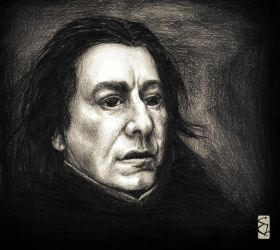 Day 3 - Severus Snape by ShatteredSwords
