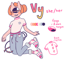 Vy ref sheet by rose-guts