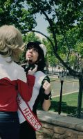 Tiger and Bunny - Always Discussing by Sora-Phantomhive