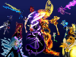 Feel the Power of Enchantix! by SorceressIgnis