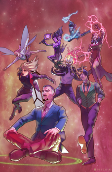 The All-New Defenders by Pryce14