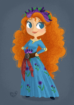 Merida by Ellanaa