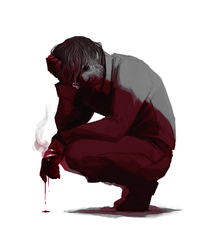 DH: Bloody Corvo by coupleofkooks